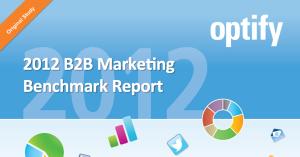 B2B Marketing Benchmark Report